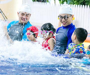 酷游教练和儿童游泳